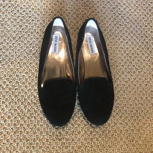 Steve Madden soft black flats size 8.5